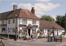 Amesbury, The Greyhound inn, Wiltshire © Paul Holmes